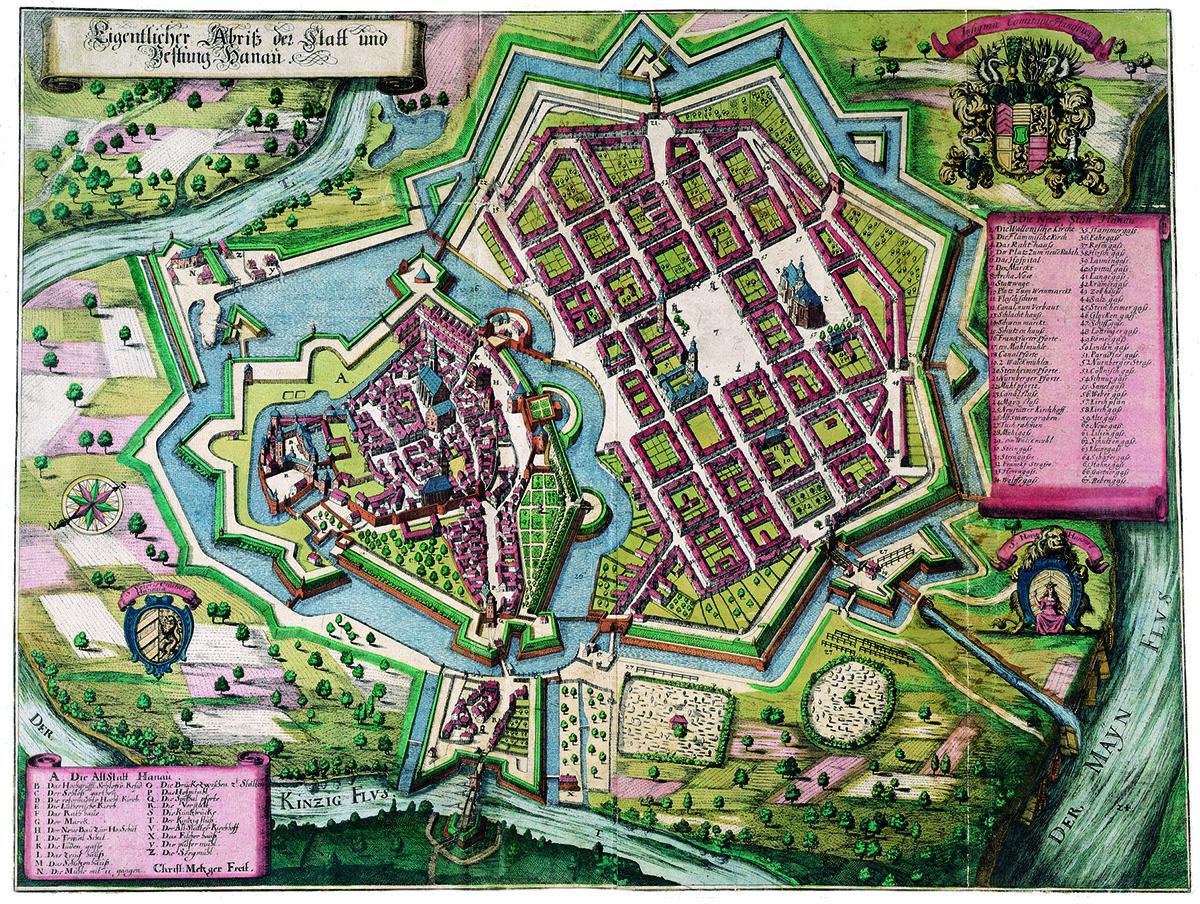 Hanau um 1670