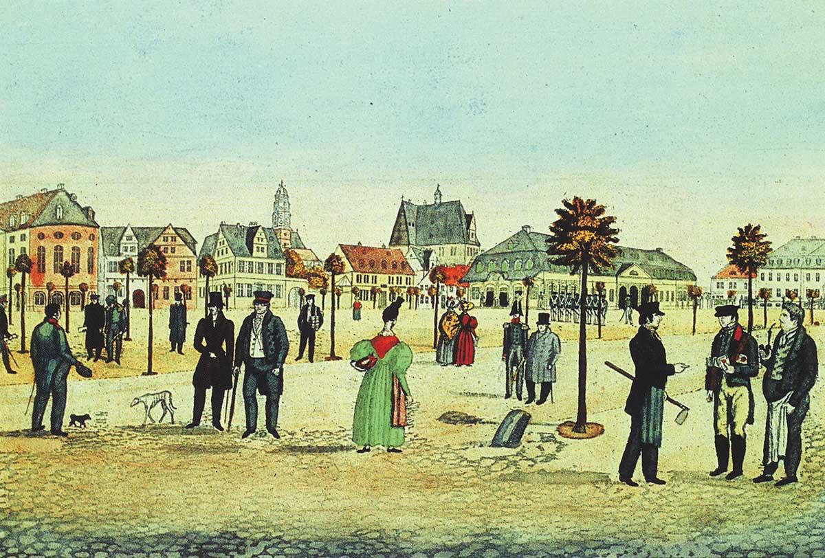Stadtansichten__Paradeplatz_1830_II